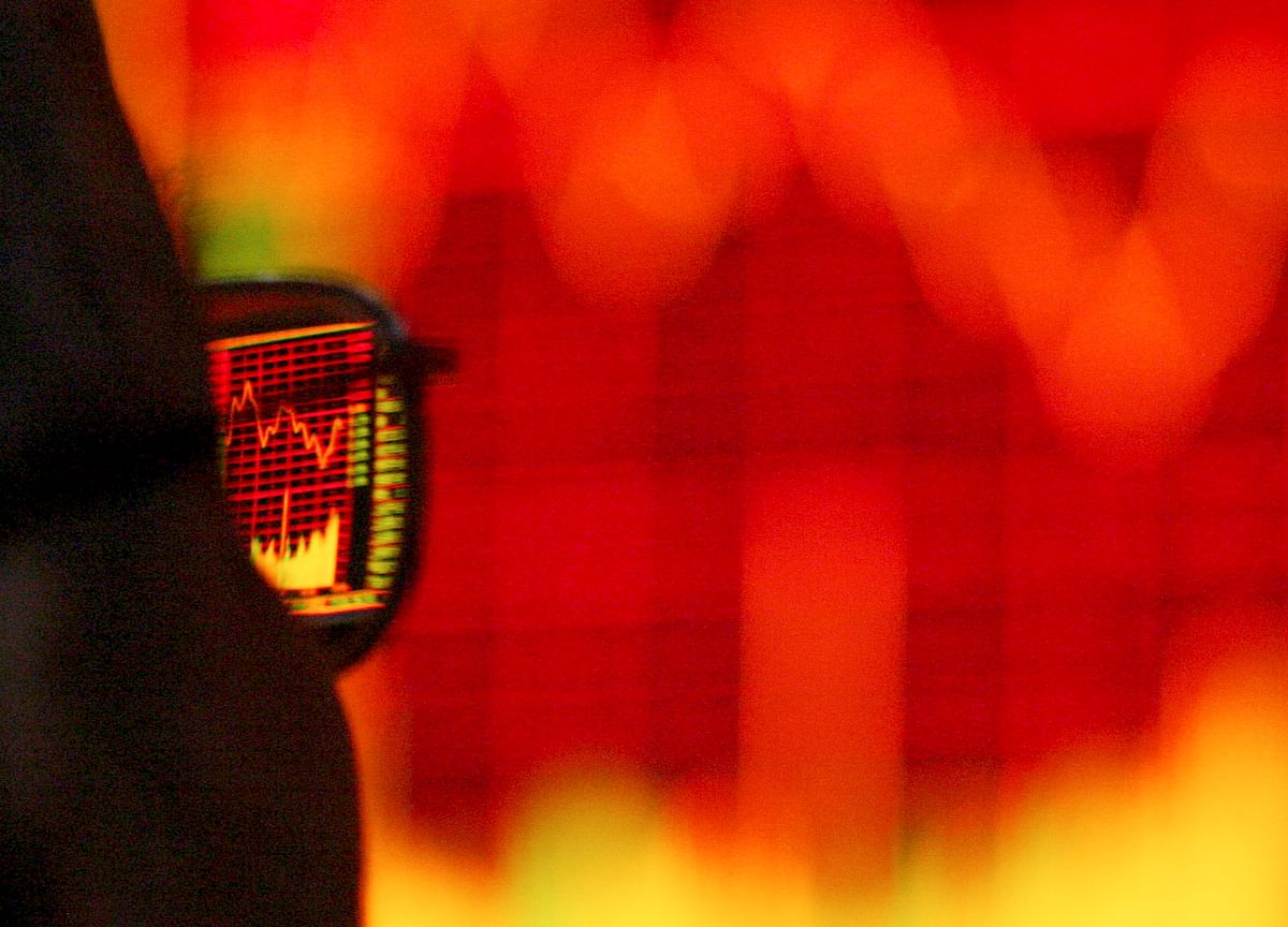 Sensex, Nifty End Lower After Volatile Trade