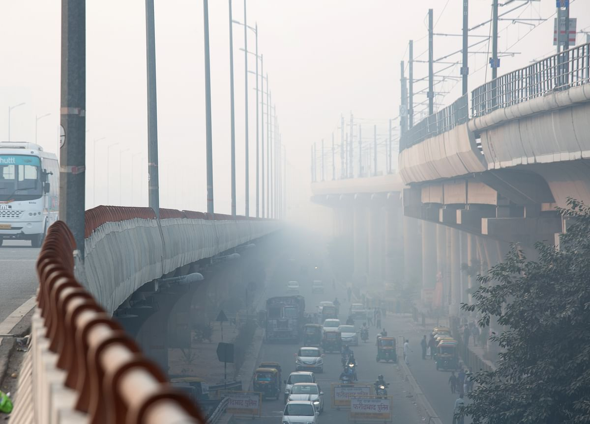 Toxic Smog Covered 41 Indian Cities, The Day After Diwali