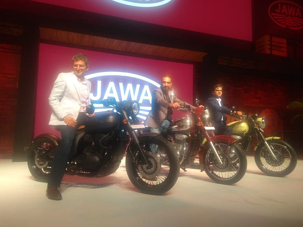 Anand Mahindra Brings Back Iconic Jawa Motorcycles To India: In Pictures