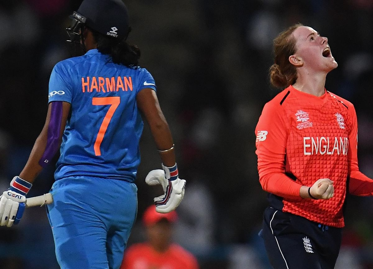 India Knocked Out of Women's WT20 After 8 Wicket Loss to England