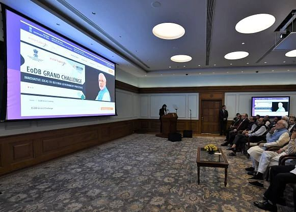 Modi Sir, Aware Of 'Egregious Officers Destroying Business' –  'EODB'?