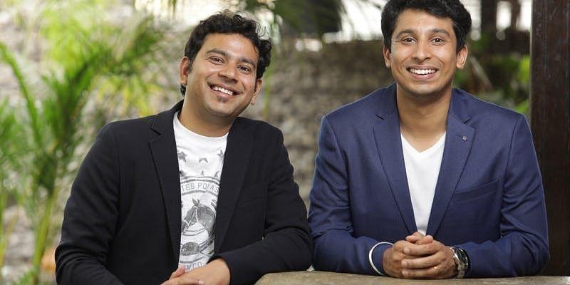 Sanjeev Barnwal and Vidit Aatrey, Co-founders of Meesho. (Source: Meesho)