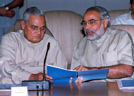 """Modi Should Atone For 2018 By Penning """"Musings"""" Like His Mentor Vajpayee"""
