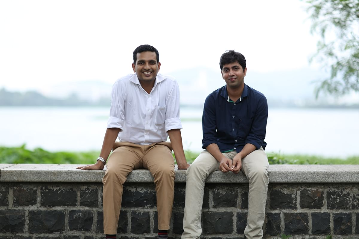 Zishaan Hayath and Hemanth Goteti, founders of Toppr