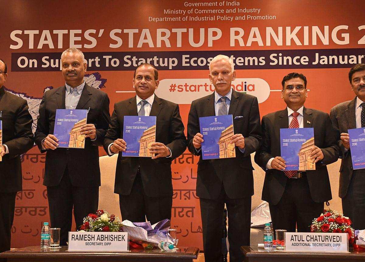 Gujarat Tops India's Startup Rankings