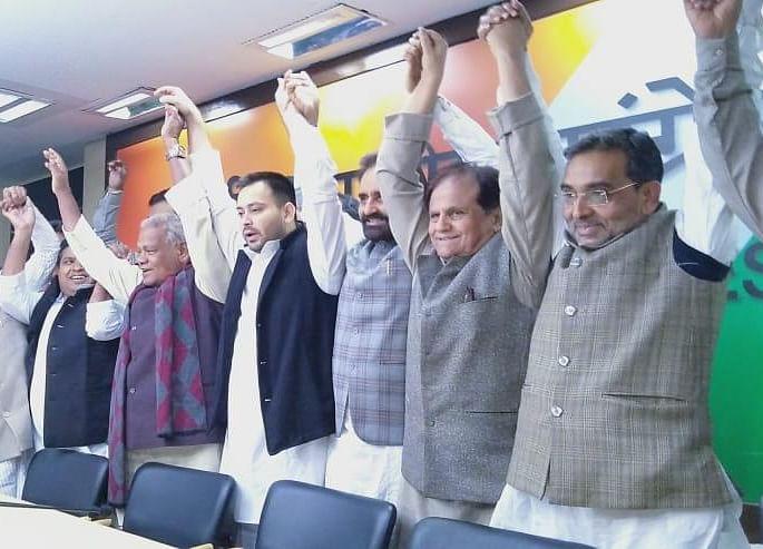 Former NDA Ally Upendra Kushwaha Joins UPA