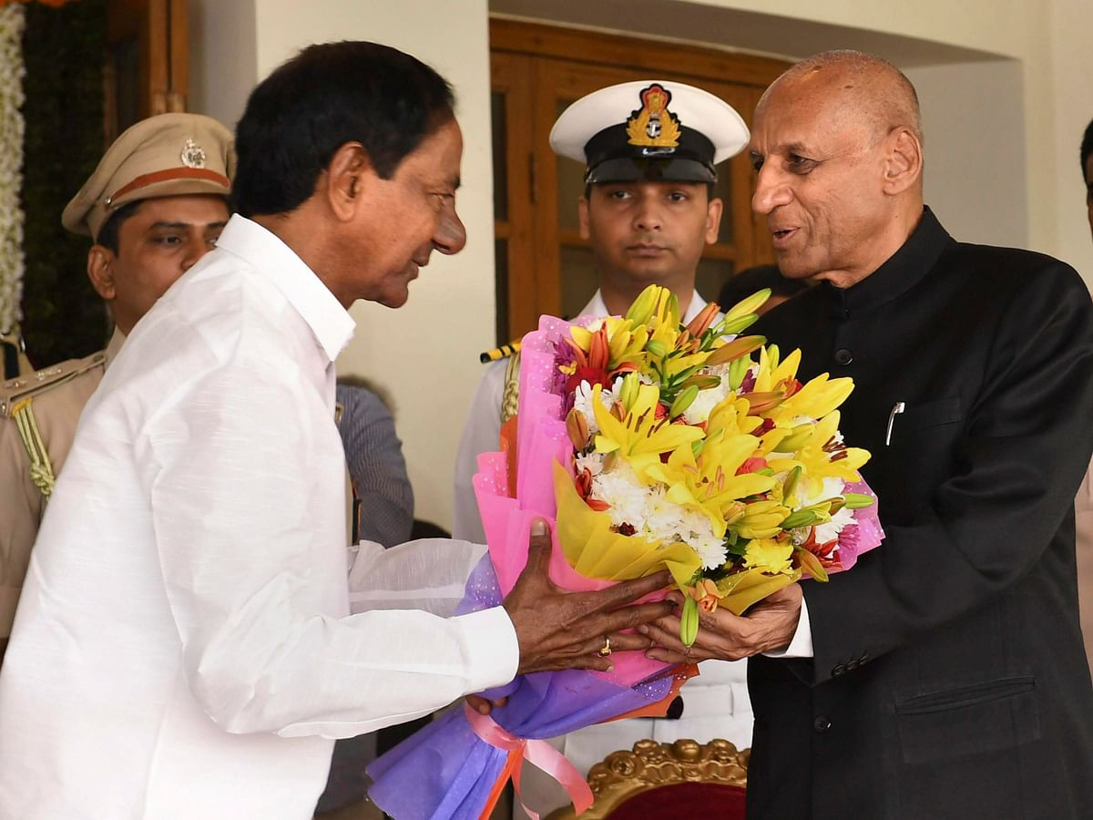 KCR Sworn-In As Telangana Chief Minister For Second Straight Term