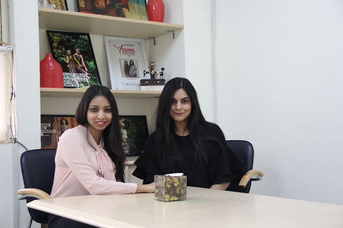 Shivani Poddar & Tanvi Malik, co-founder of FabAlley. (Source: FabAlley)