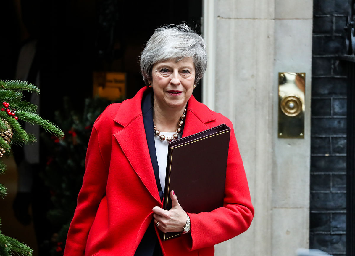 May Loses Control Over Brexit Endgame in War With Parliament