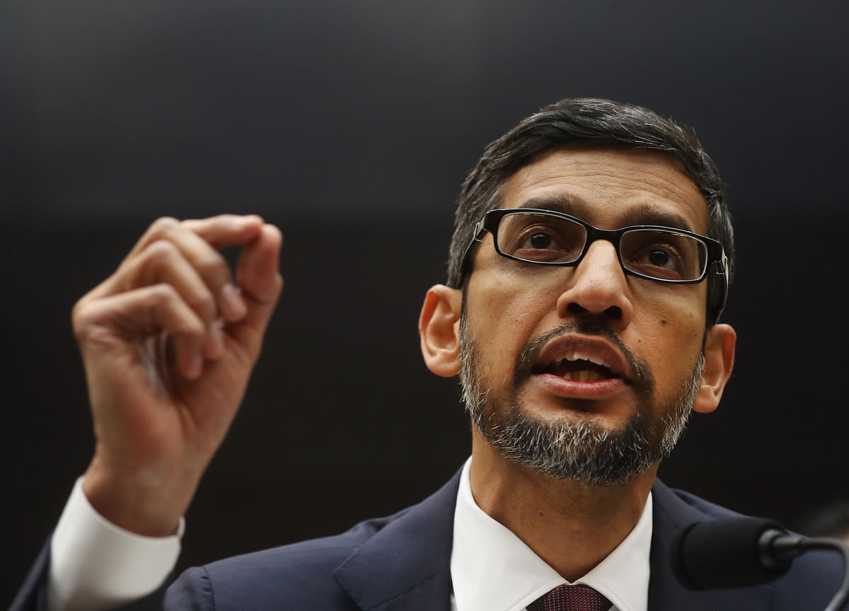 Google CEO Rebuts Claims of Bias, Data Tracking in Congress