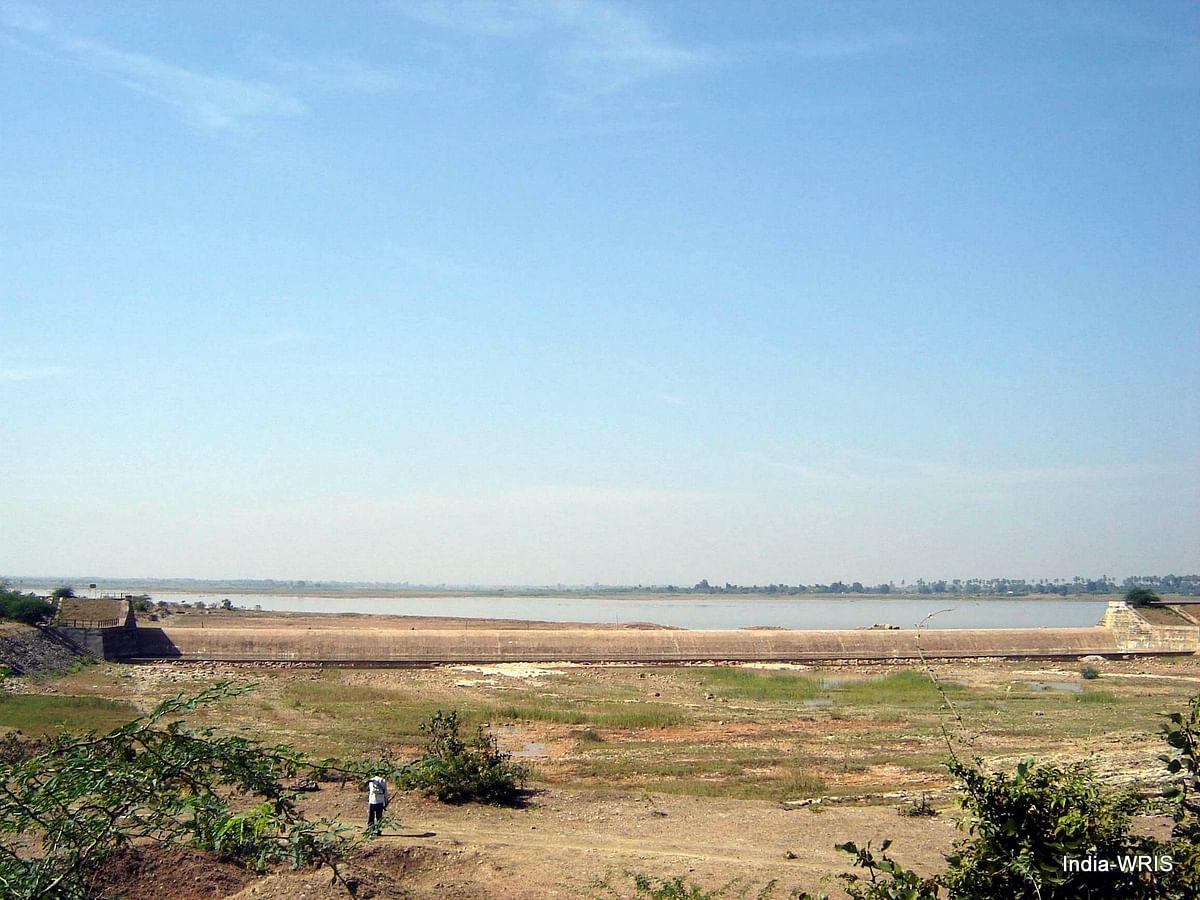 The Yerravagu Project in the Godavari Basin, Adilabad, Telangana. (Image: Water Resources Information System of India)