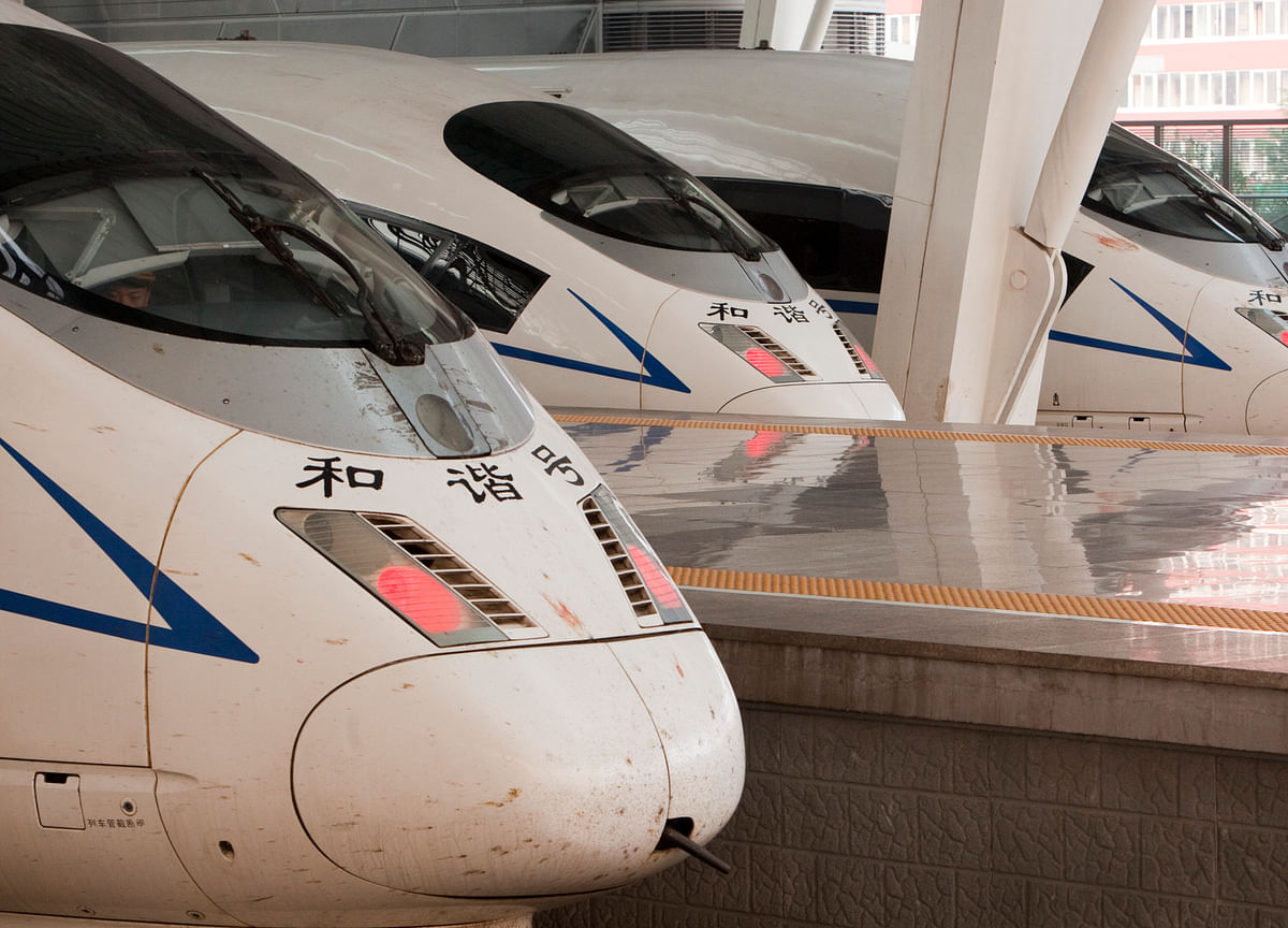China Wants to Make the World's Fastest Bullet Trains Even Faster