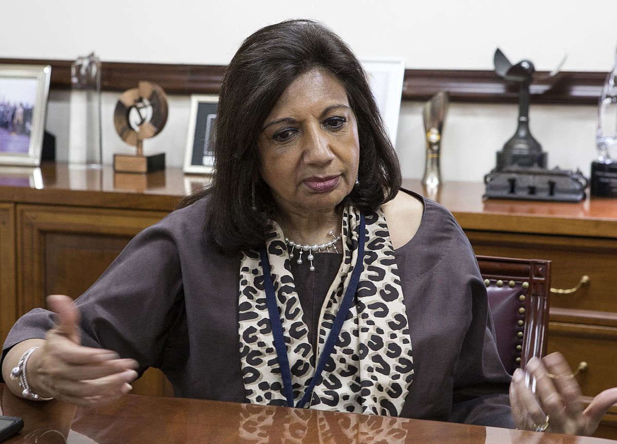 Kiran Mazumdar-Shaw Sold 1,600 Shares Without Pre-Clearance, Says Infosys