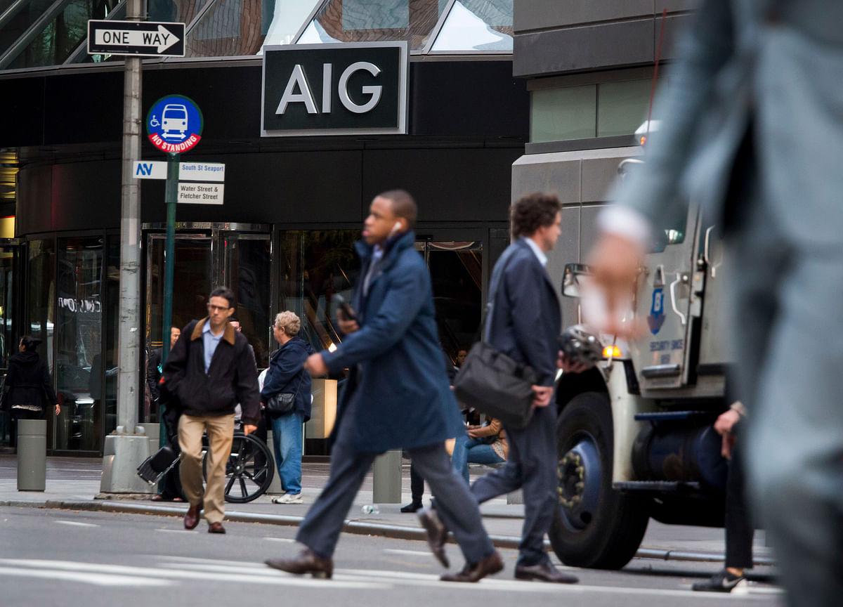 AIG Promotes Mark Lyons to Finance Chief, Replacing Sankaran