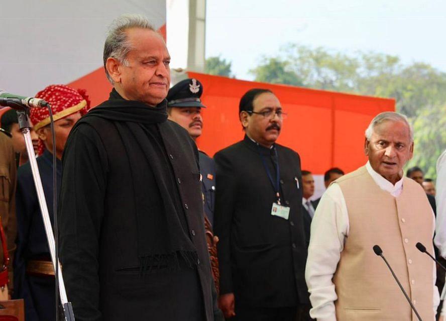 Ashok Gehlot, Sachin Pilot Sworn-In As Rajasthan's CM & Deputy CM