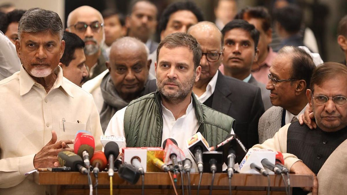 Full Statement by 21 Parties After Opposition Meet in New Delhi