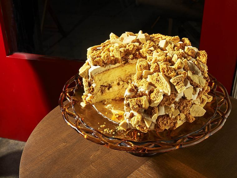 Blum's Coffee Crunch Cake | Valerie, Los Angeles