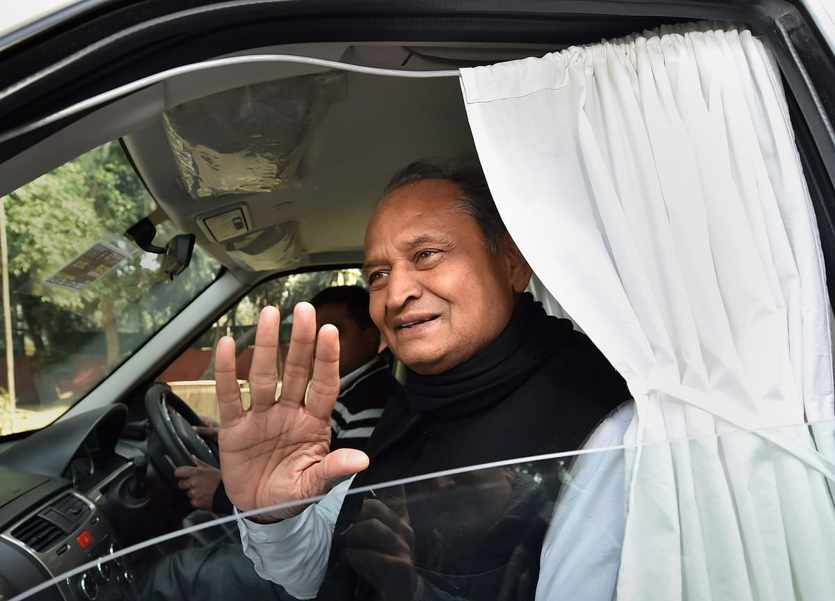 Rajasthan Chief Minister Ashok Gehlot Says States Did Their Bit, Time For Central Support