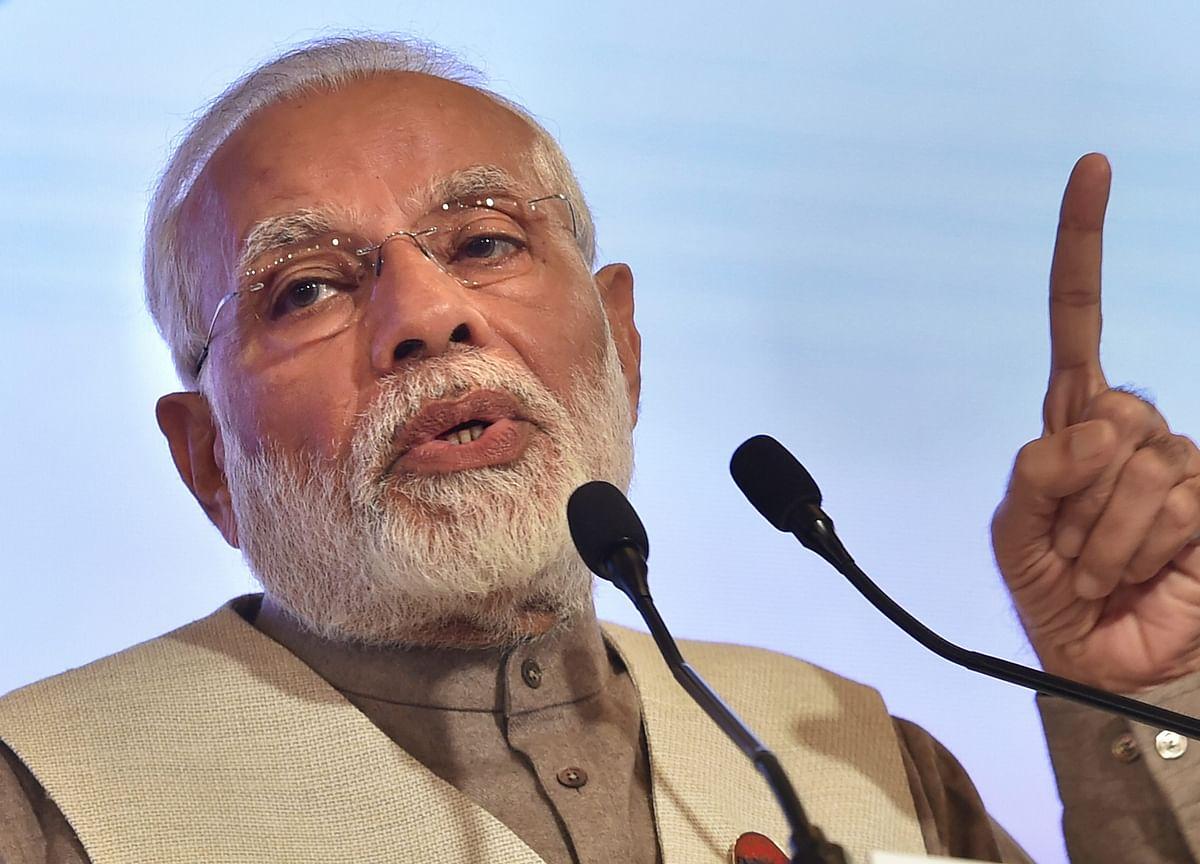 Modi Attacks Congress In Sonia Gandhi's Turf Rae Bareli