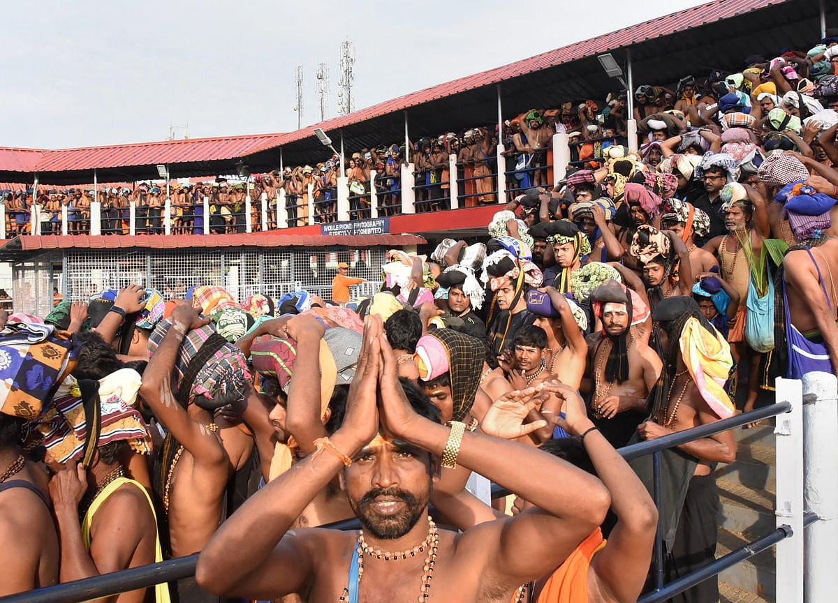 Sabarimala Temple Opens For Two-Month Long Pilgrimage Season