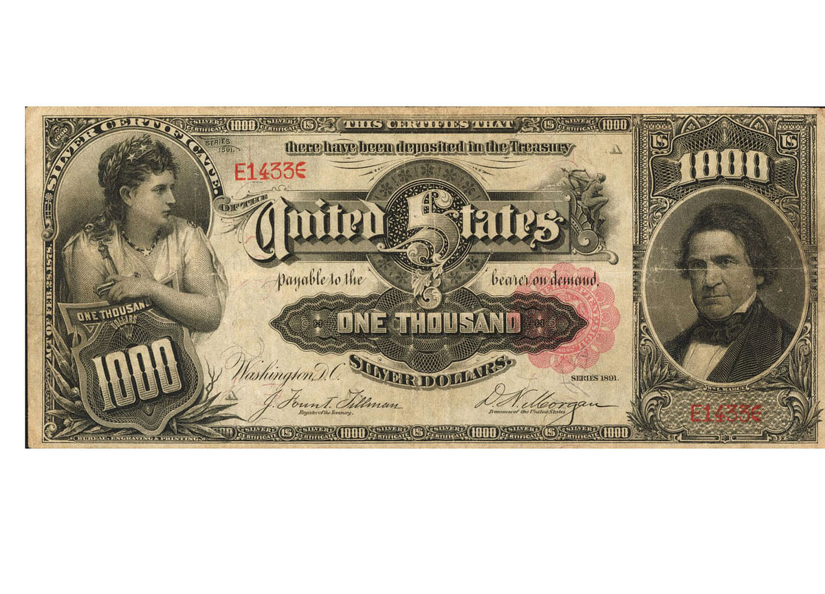 The $1,000 Bill That Could Be Worth$3 Million