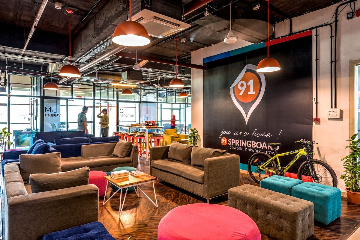 Deal Street Co Working Startup 91springboard Raises 10 2 Million
