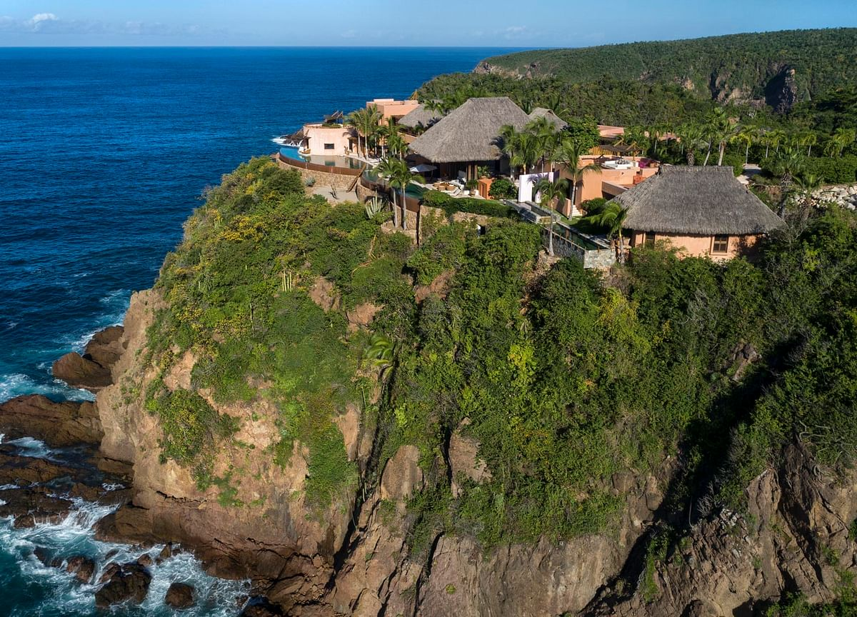 A $13 Million Cliffside Mega-Mansion Is on the Market in Mexico