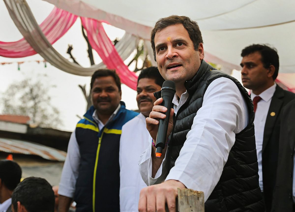 Rahul Promises Minimum Income Guarantee To Poor If Congress Returns To Power