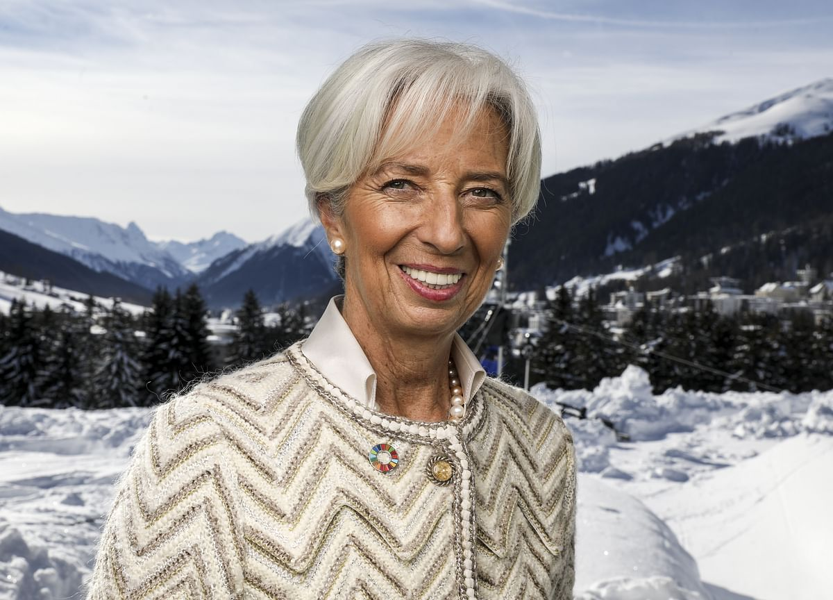 Christine Lagarde Compared the World Economy to a Cross-Country Skier