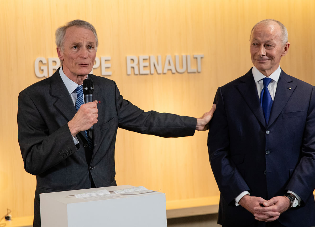 Renault's Senard Plays Down Potential for Nissan, Fiat Mergers