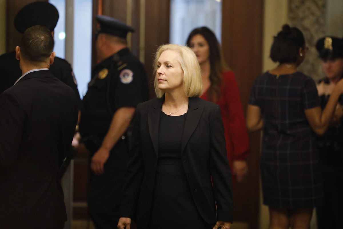 New York's Gillibrand Takes First Step Toward Presidential Race