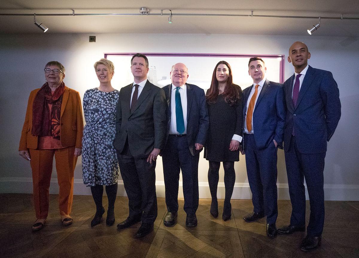 Seven U.K. Labour MPs Quit Party in Brexit Split With Corbyn