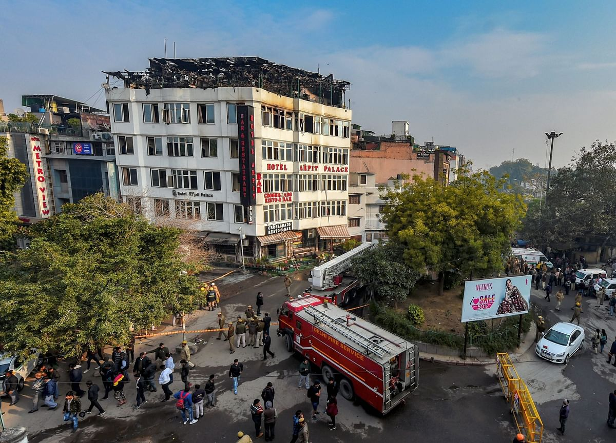 Delhi Karol Bagh Hotel Fire: FIR Against Owner, 2 Staff Arrested