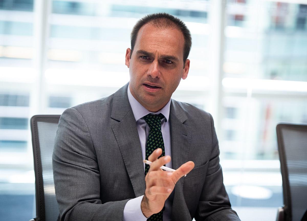 Jair Bolsonaro's Son Joins Steve Bannon's Nationalist Alliance
