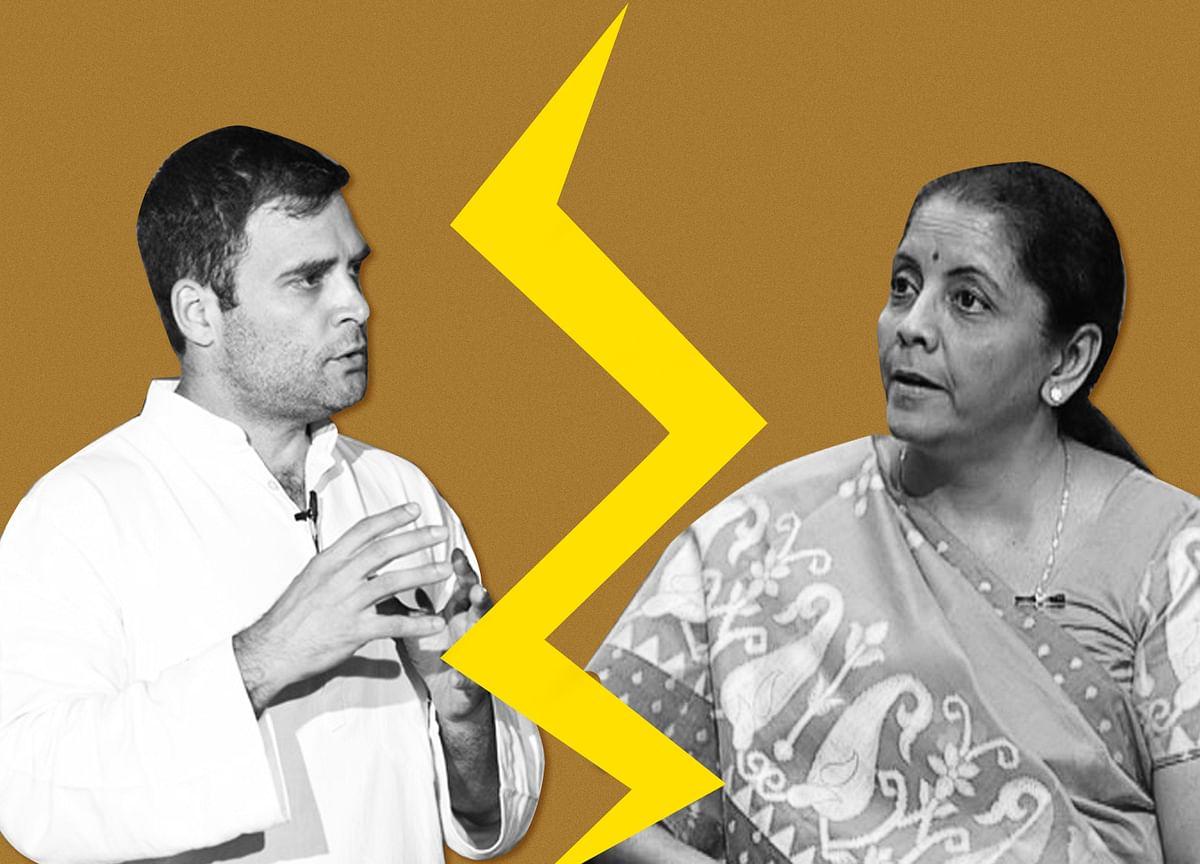 'Flogging Dead Horse': Nirmala Rejects Rahul's Latest Rafale Jibe