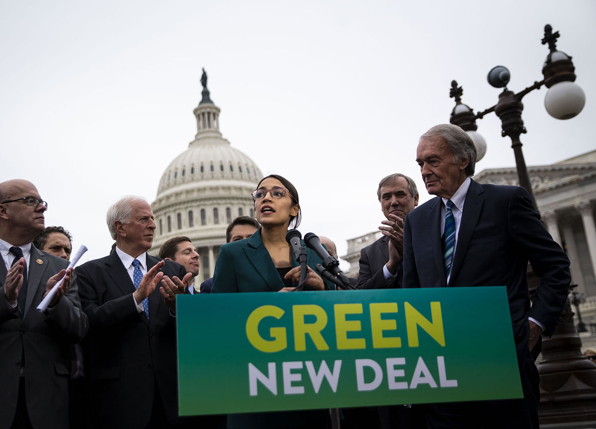 Republican-Controlled Senate to Vote on Democrats' Green New Deal