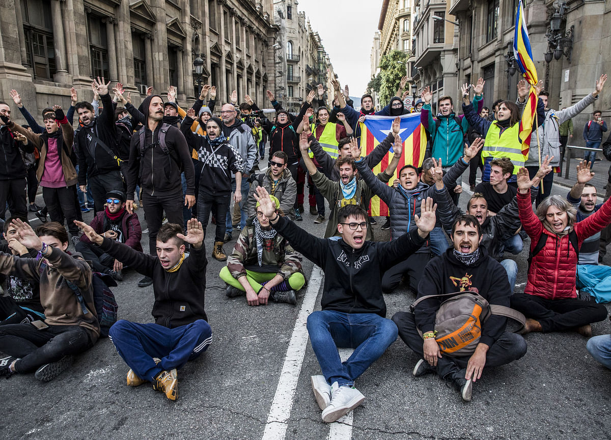 Spain Overreacts to a Little Catalan Rebellion