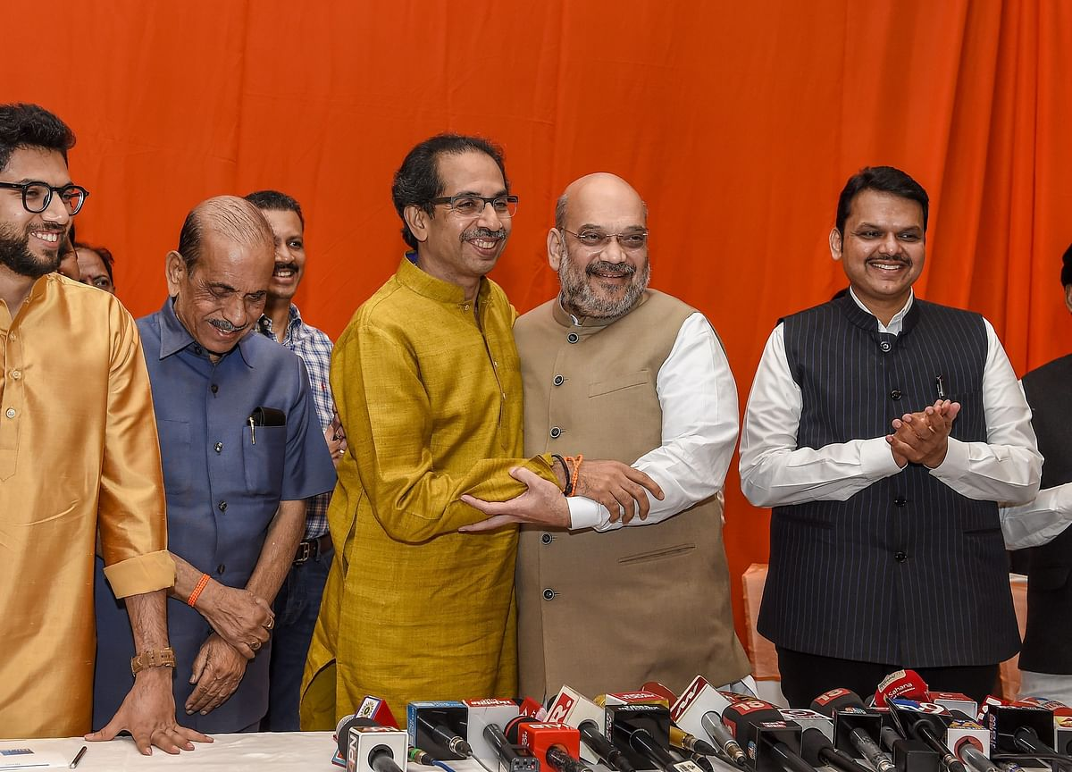 BJP And Shiv Sena To Contest Lok Sabha, Assembly Polls Jointly