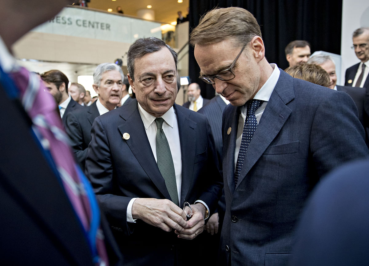 Weidmann Comeback Could Yet Jolt ECB Race for Draghi Succession