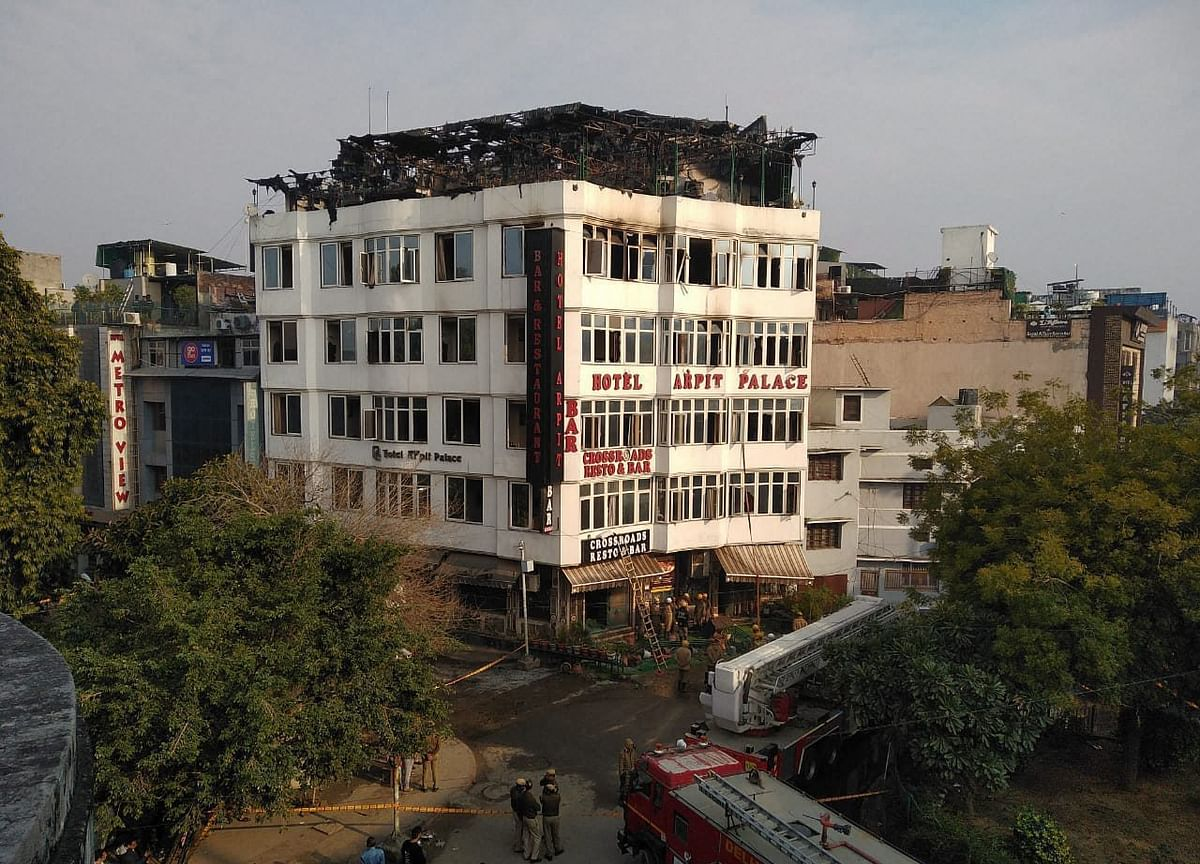Delhi Government Orders Probe Into Hotel Fire That Killed 17 In Karol Bagh
