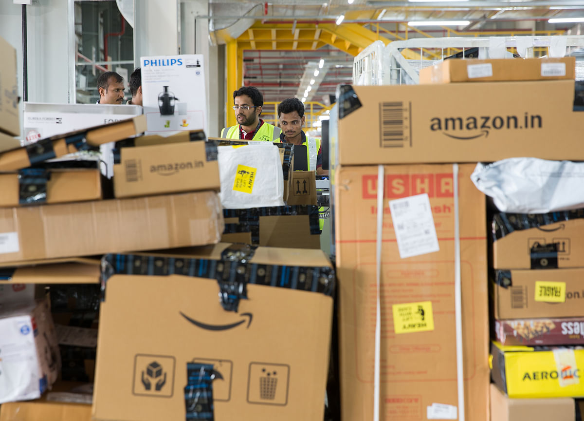 FIR Filed Against Amazon Over Products With Images Of Hindu Gods