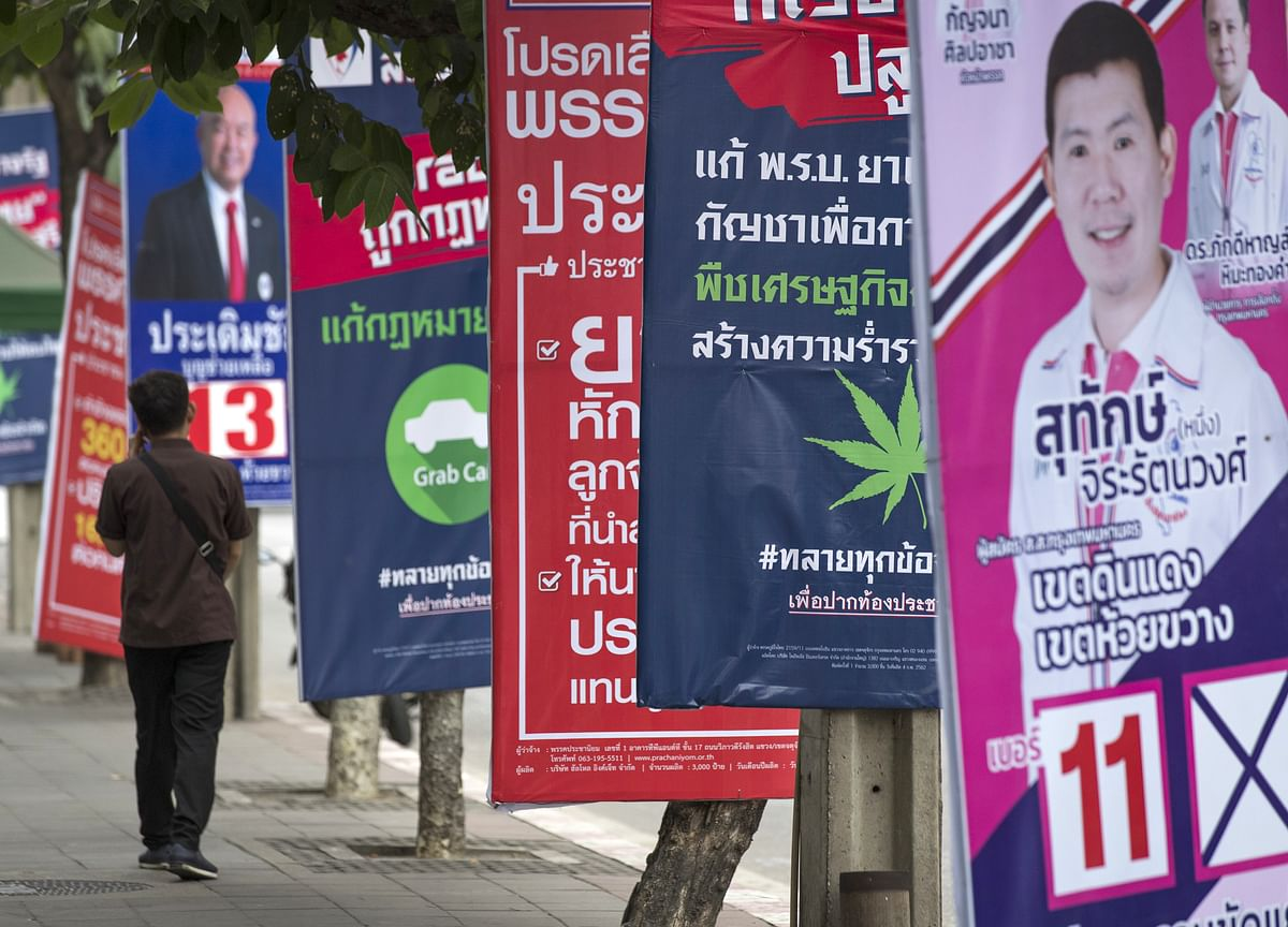 Race to Become Prime Minister of Thailand Is a Man's World