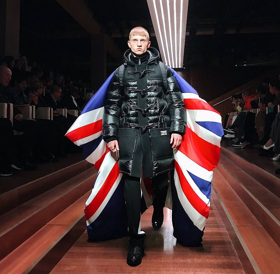 Burberry's Fractured Fashion Show Is a Fit for Brexit Britain