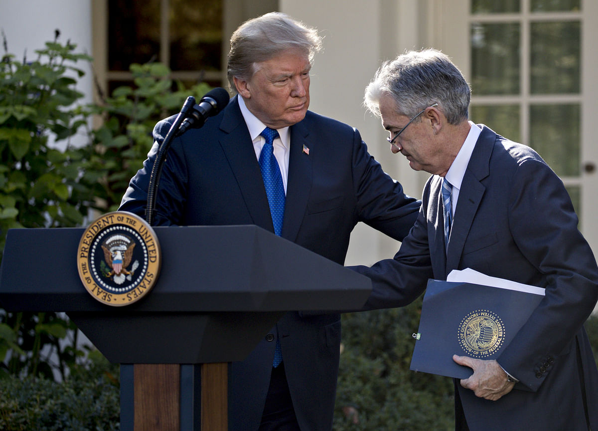 Powell and Trump Met to Discuss Economic Outlook, Fed Says