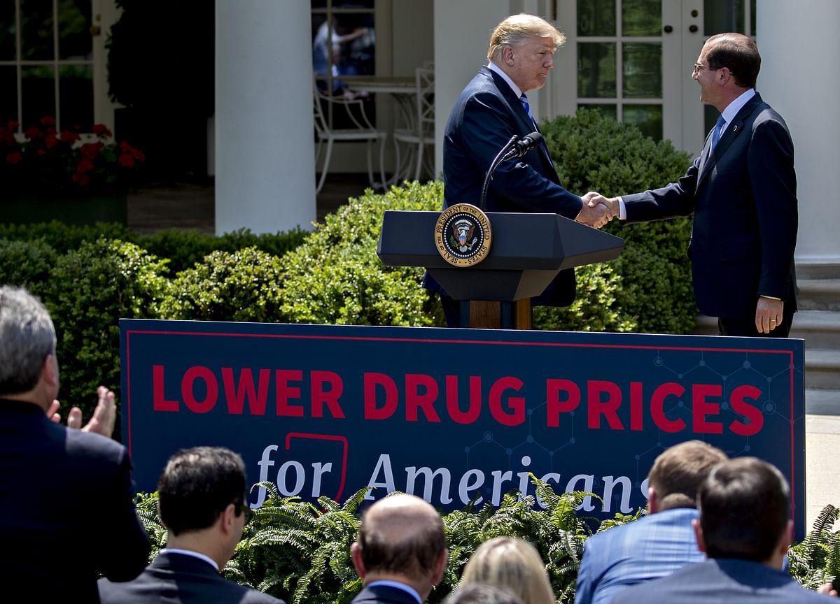 Trump Targets Drug Middlemen With `Devastating' Rebate Plan