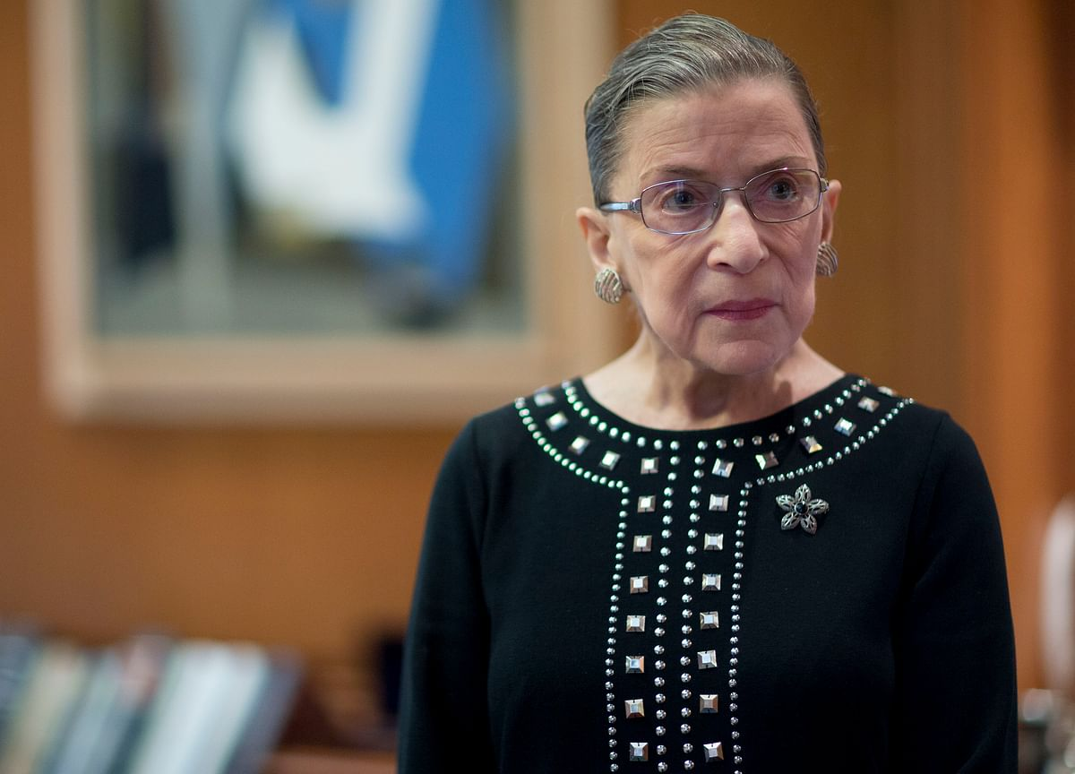 Ginsburg Says After Cancer She's on the Way to 'Being Very Well'