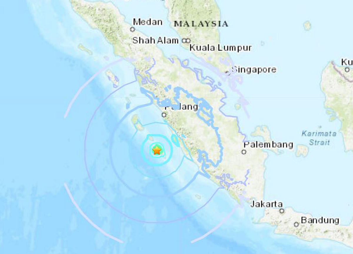 Earthquake Hits Western Indonesia, Tsunami Alert Not Expected