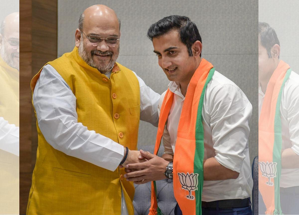 'Inspired by PM Modi's Vision,' Says Gautam Gambhir, Joins BJP