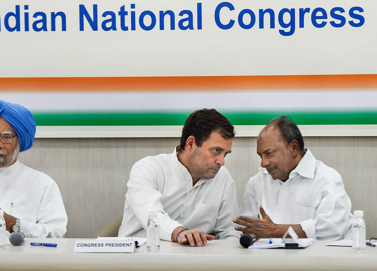 Congress' Rahul Gandhi Promises Minimum Income Of Rs 12,000 A Month For India's Poorest
