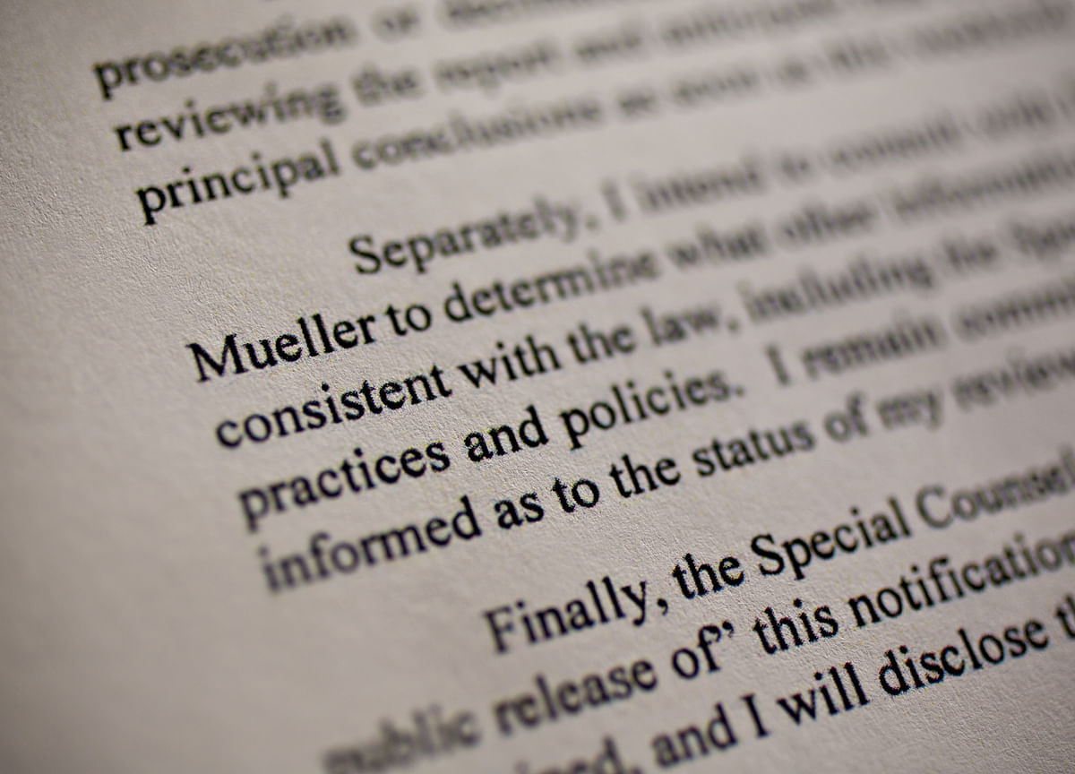 How Much of Mueller's Report Will See Daylight?